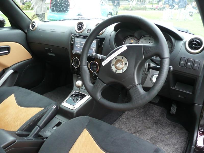 Daihatsu Copen interior.