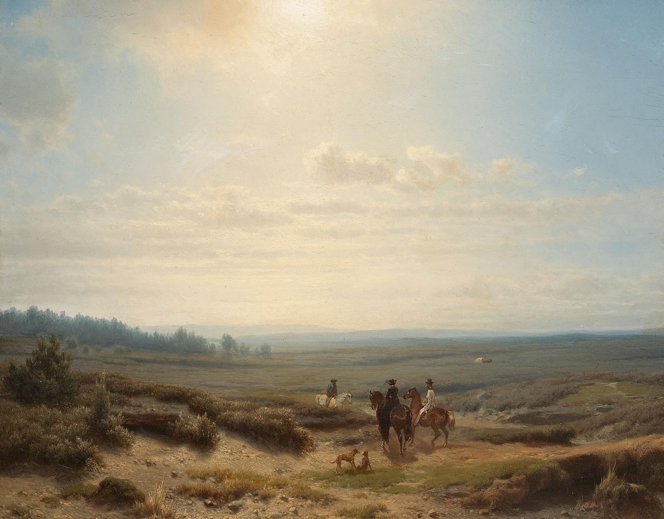 File:Cornelis Lieste Reiter in weiter Landschaft.jpg ...