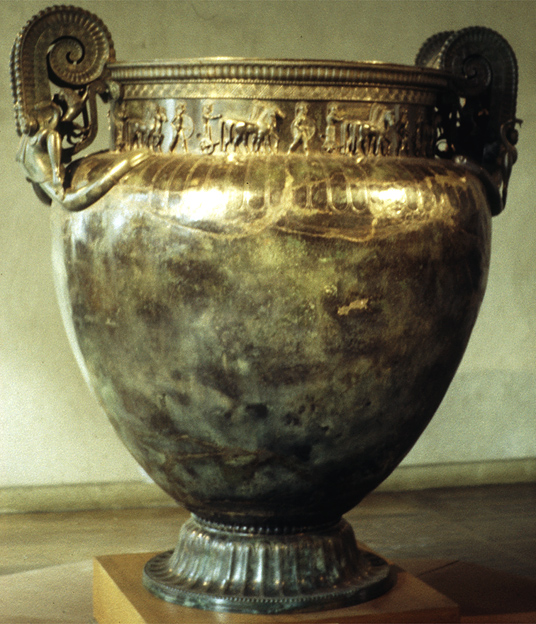art and historical analysis of an ancient bell krater essay