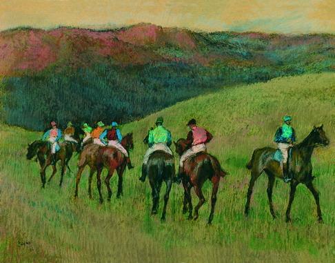 Ficheiro:Degas, Race Horses in a Landscape.jpg