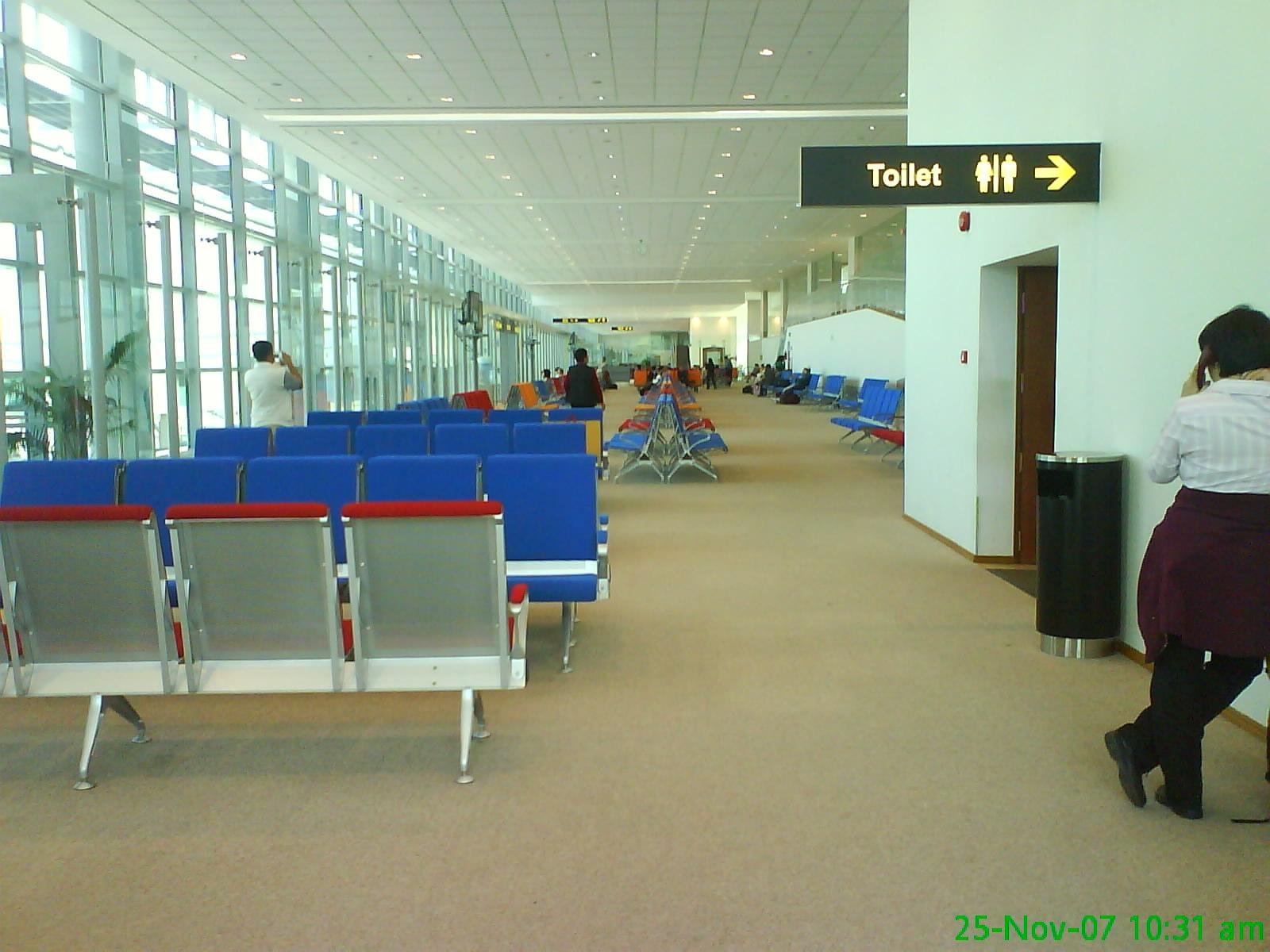 File Departure Lounge Yangon International Airport Jpg Wikimedia Commons