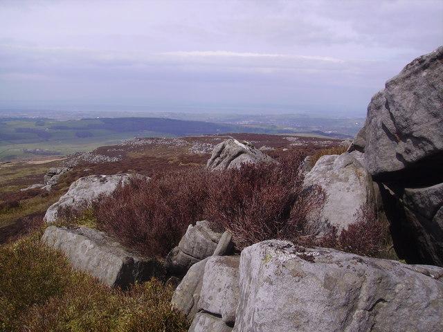 Descending Clougha Pike - geograph.org.uk - 770946
