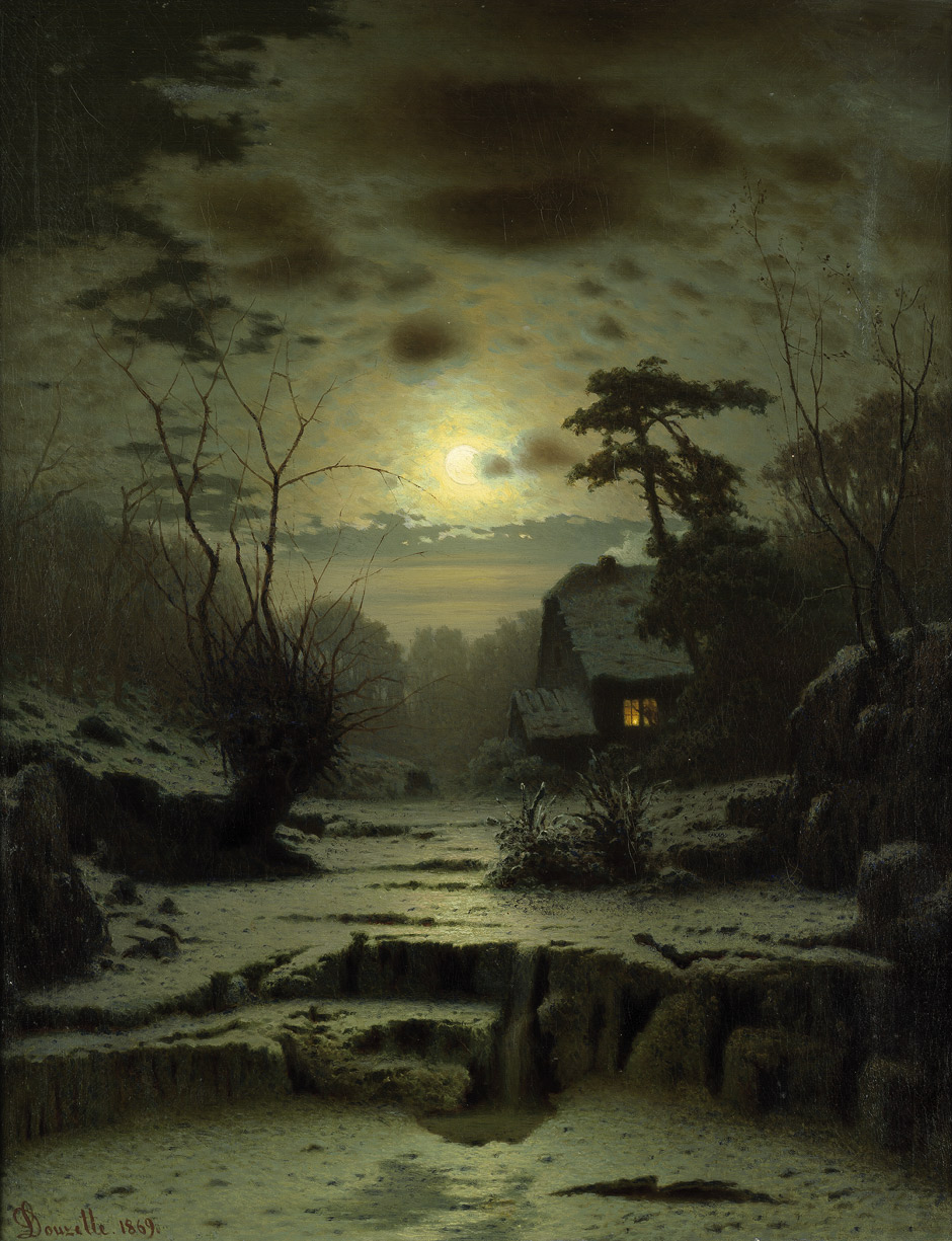 original landscape moon night - photo #48