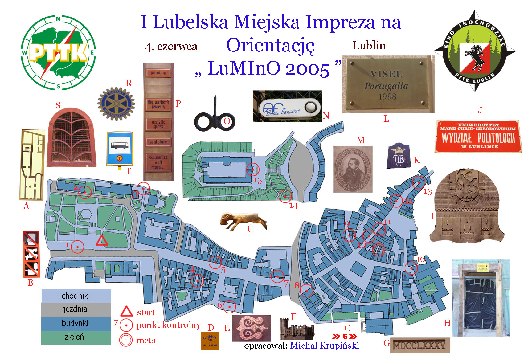 Photo orienteering in Lublin - Poland