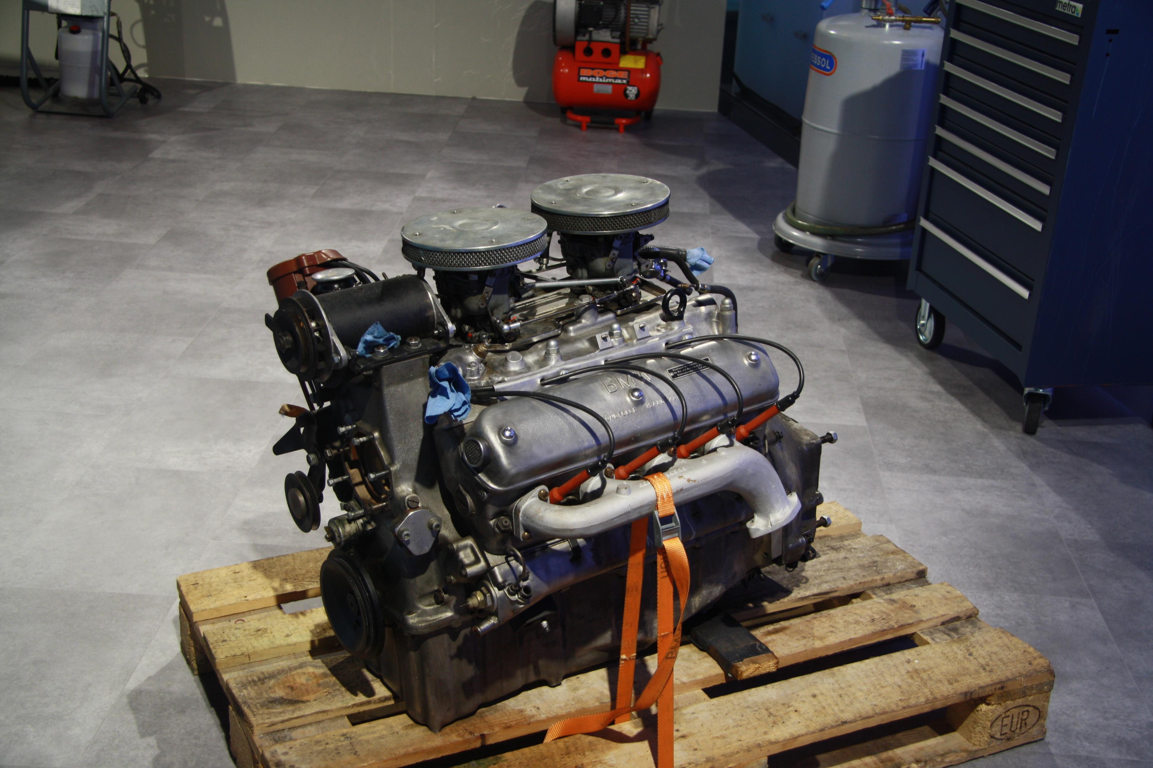 FileEngine Of BMW 507 In Museum Munich BayernJPG