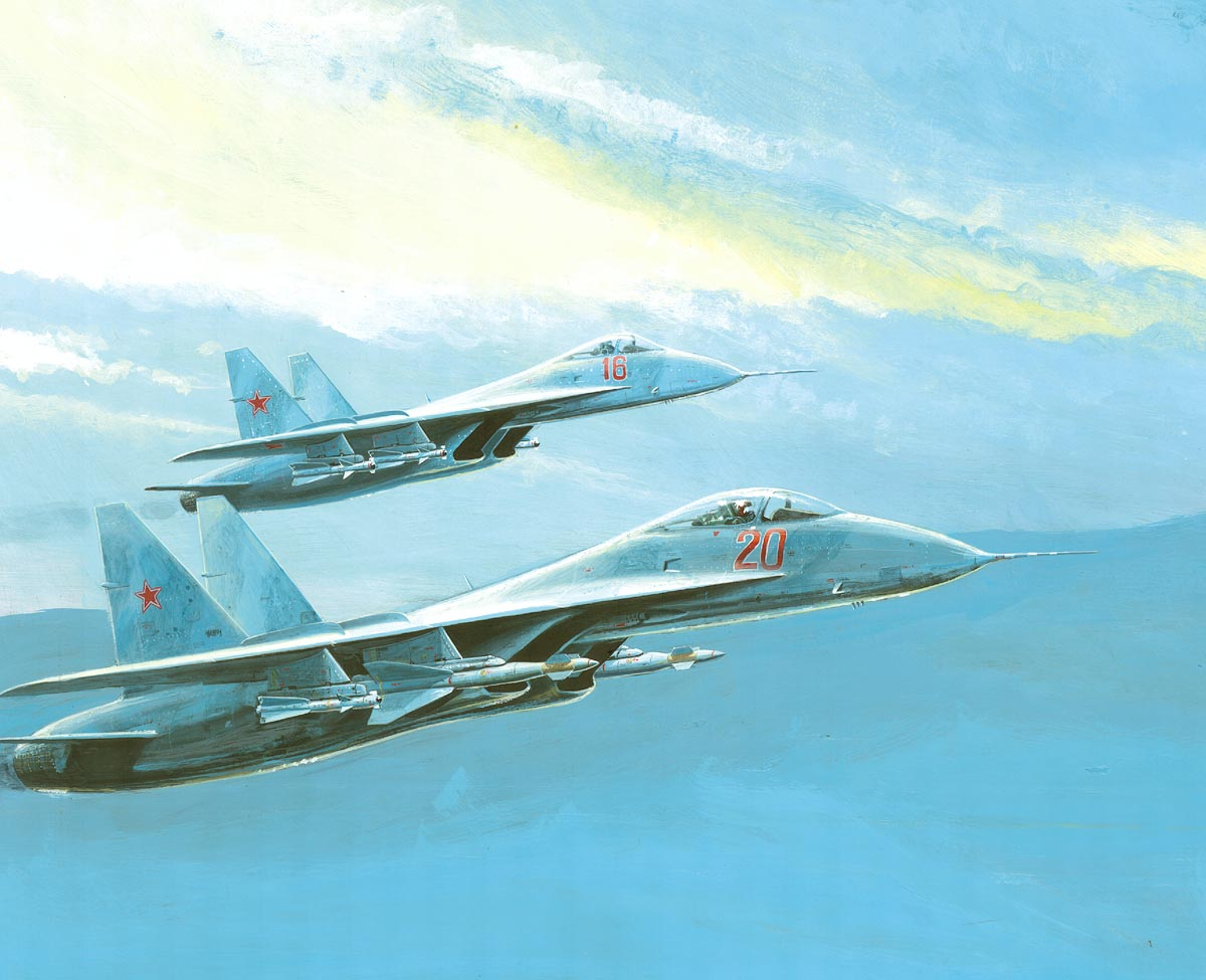 FLANKERs_in_Formation_by_Richard_J._Terr