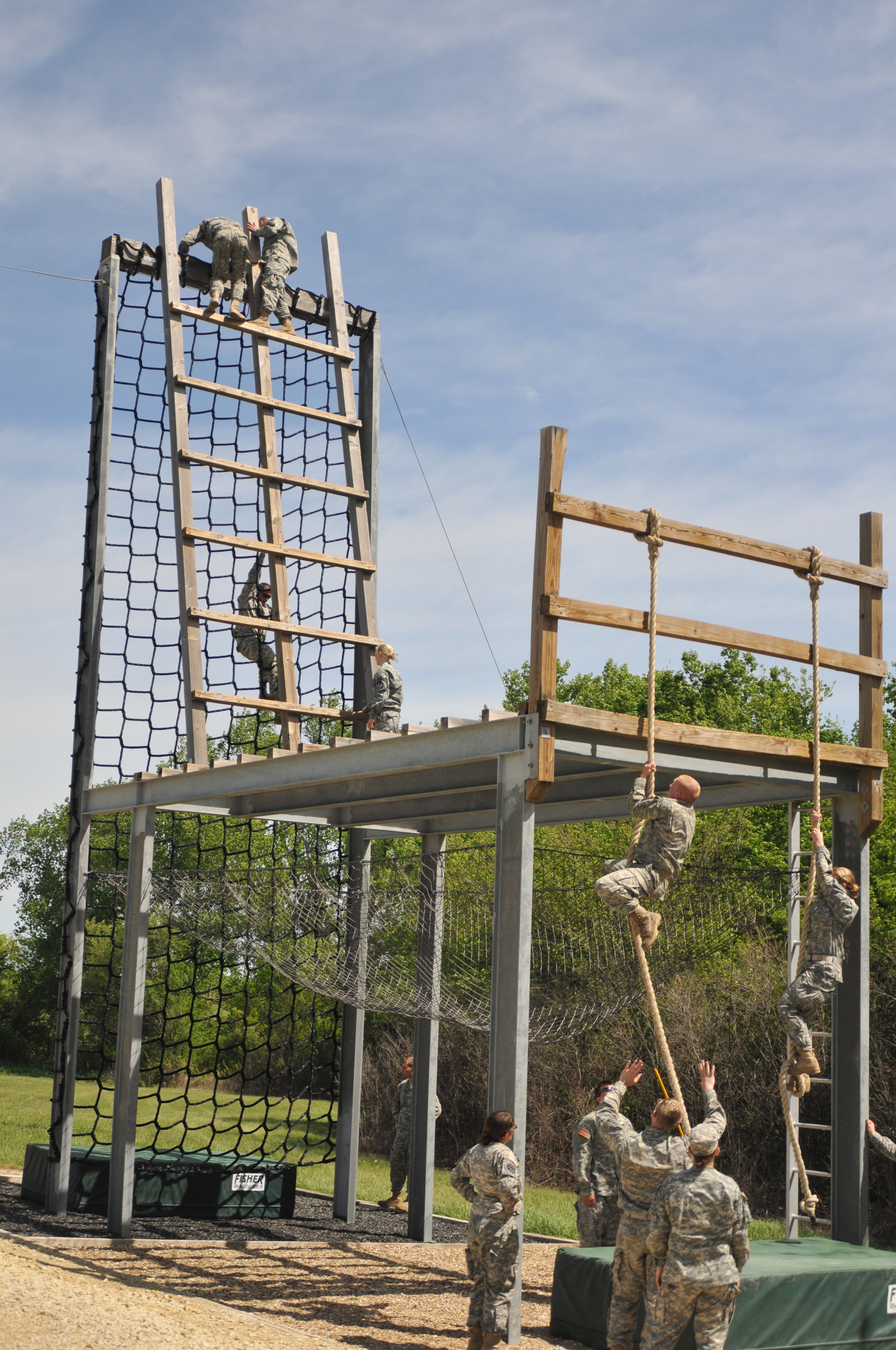 Building An Obstacle Course Wall