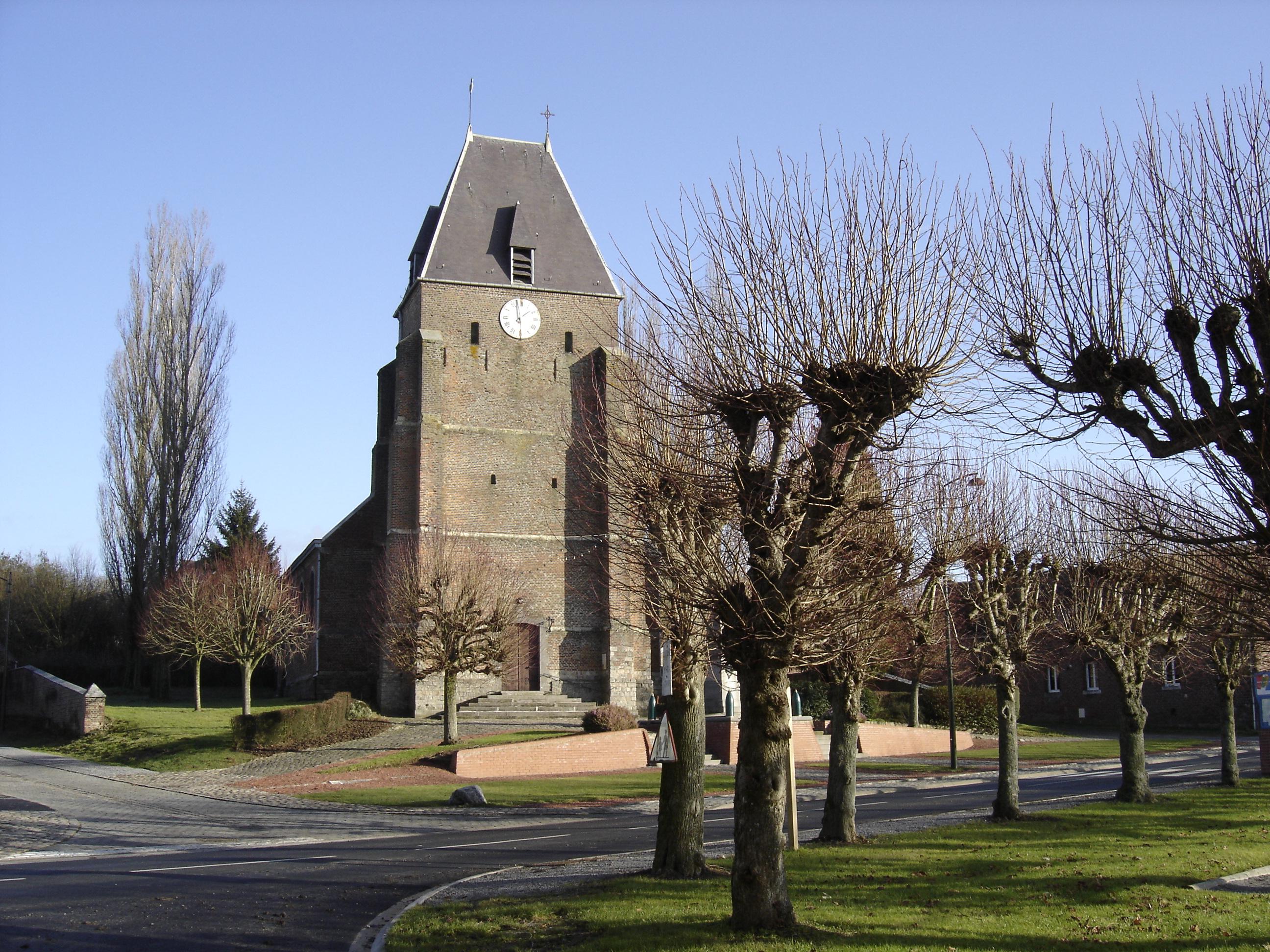 FontaineauBois (Nord, France)  information geographique  ~ Fontaine Au Bois