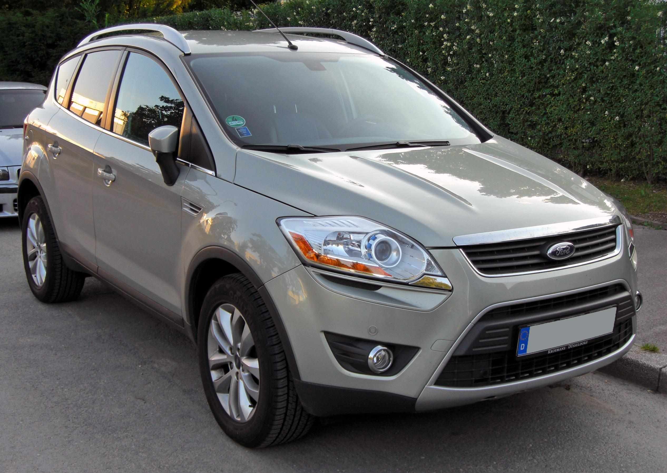 Kuga Dimensions >> File:Ford Kuga 20090612 front.JPG - Wikimedia Commons