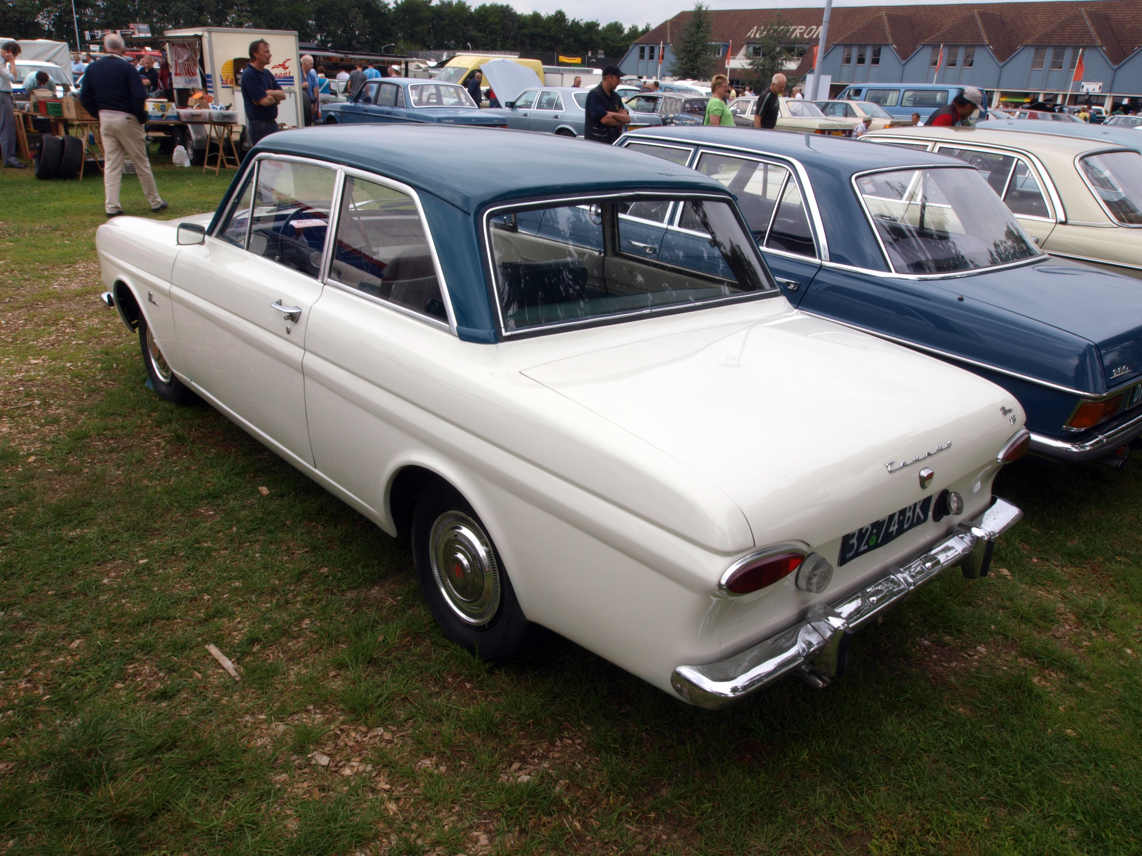 File Ford Taunus 12m P4 Ts At The Autotron Dutch Licence