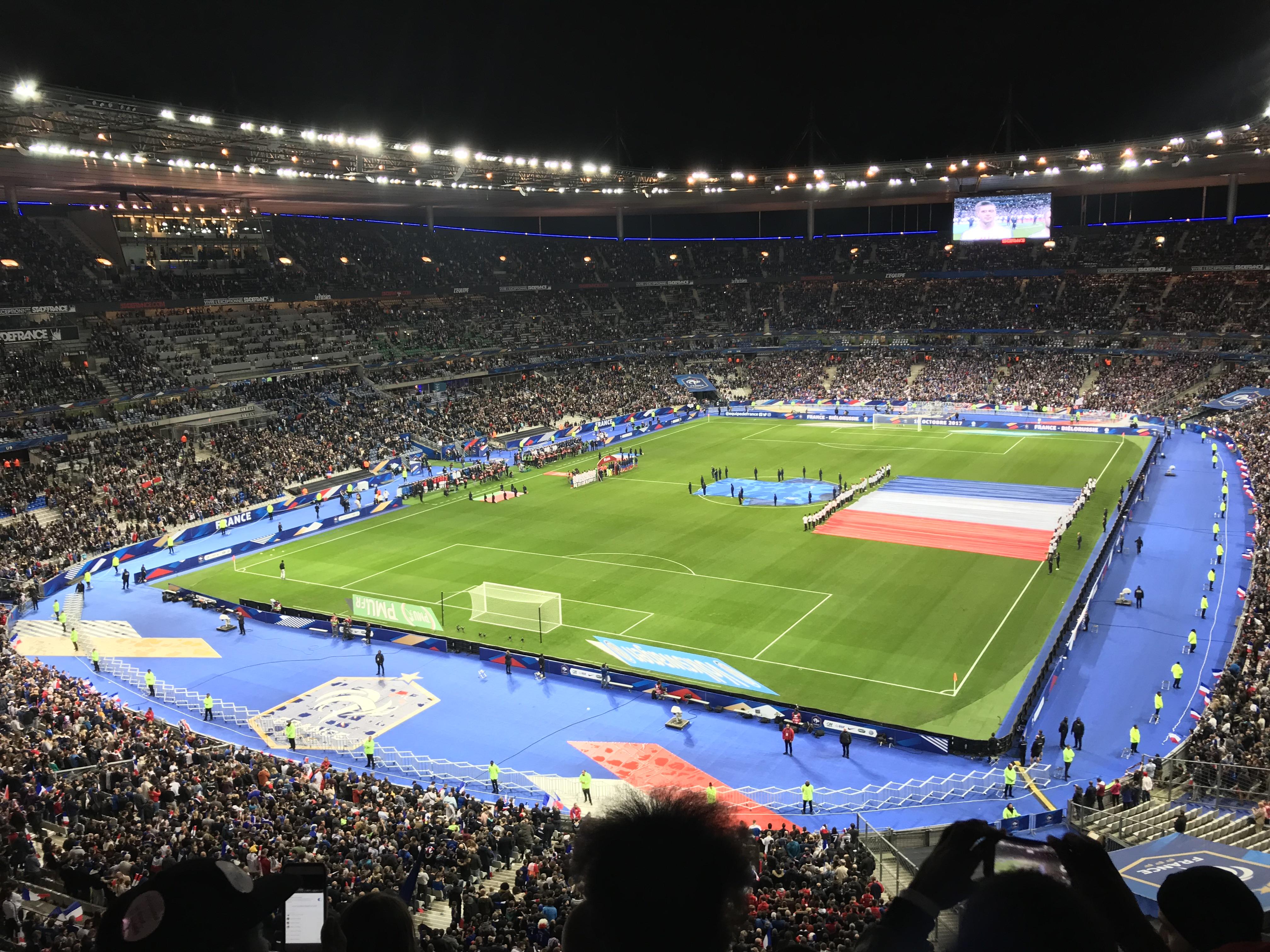 9e64df1970b France v Belarus at the Stade de France in October 2017.