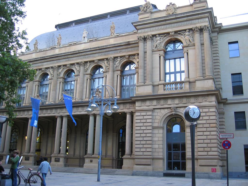 Франкфуртская фондовая биржа Википедия