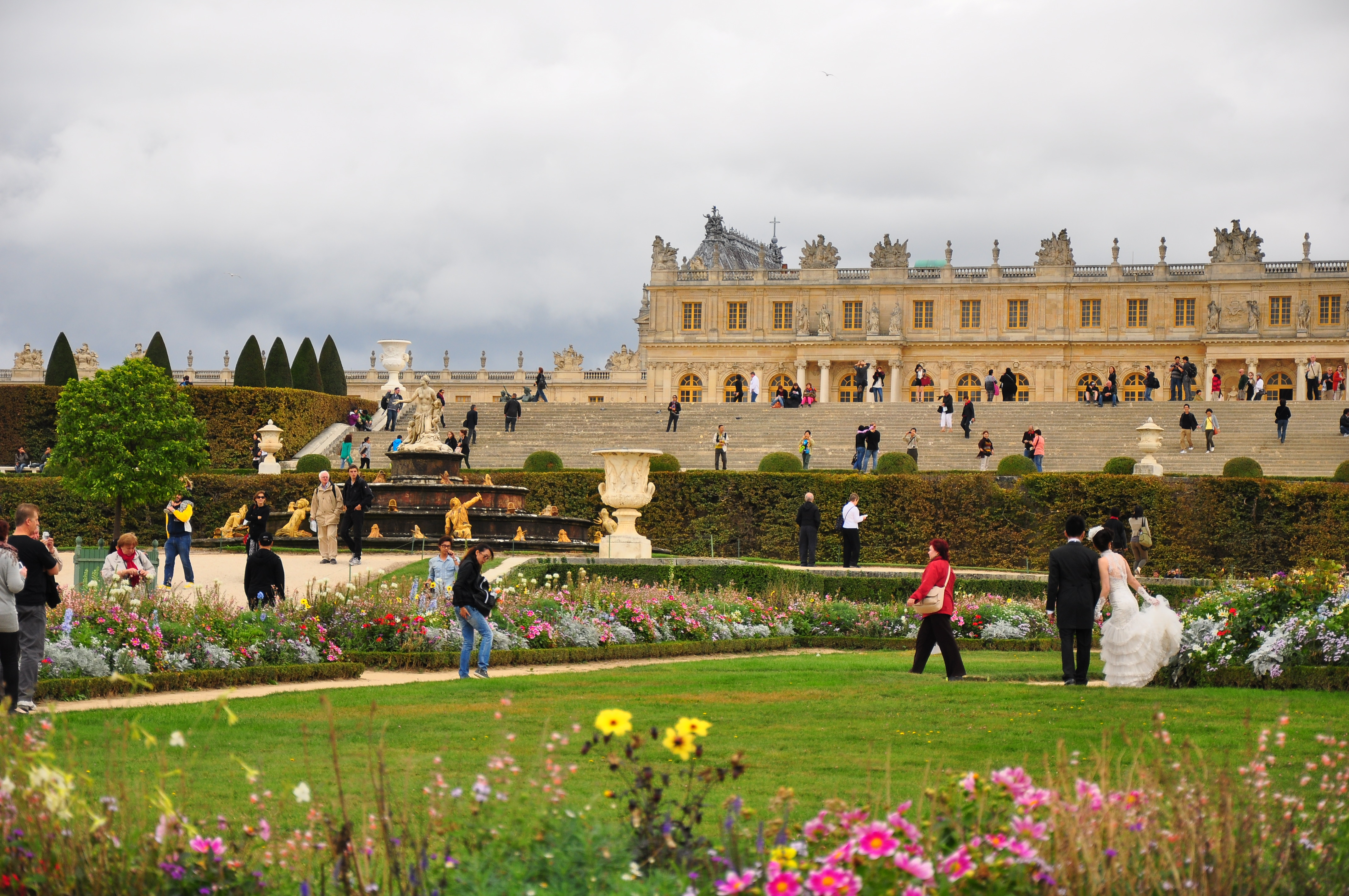 File Garden Facade Of The Palace Of Versailles October 5 Wikimedia Commons