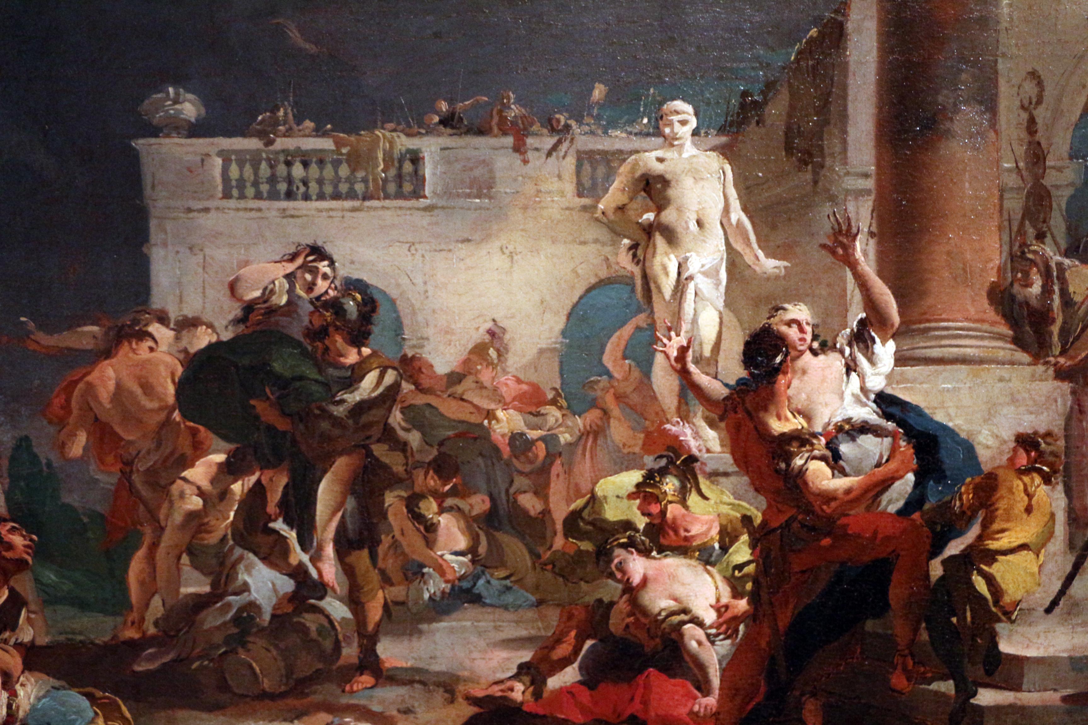 File:Giovan battista tiepolo, ratto delle sabine, 1718-19 circa, 02