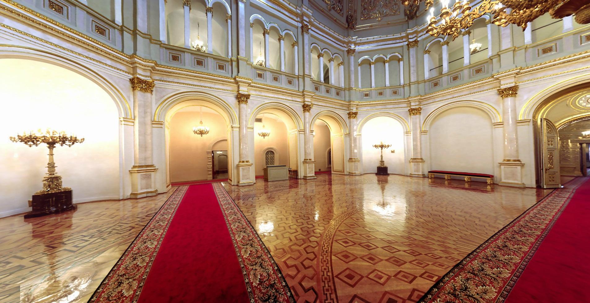 اولین کاخ بزرگ جهان - کاخ کرملین