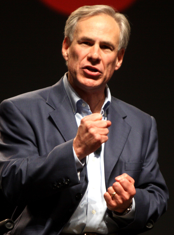 Greg Abbott, Governor of Texas Head Shot