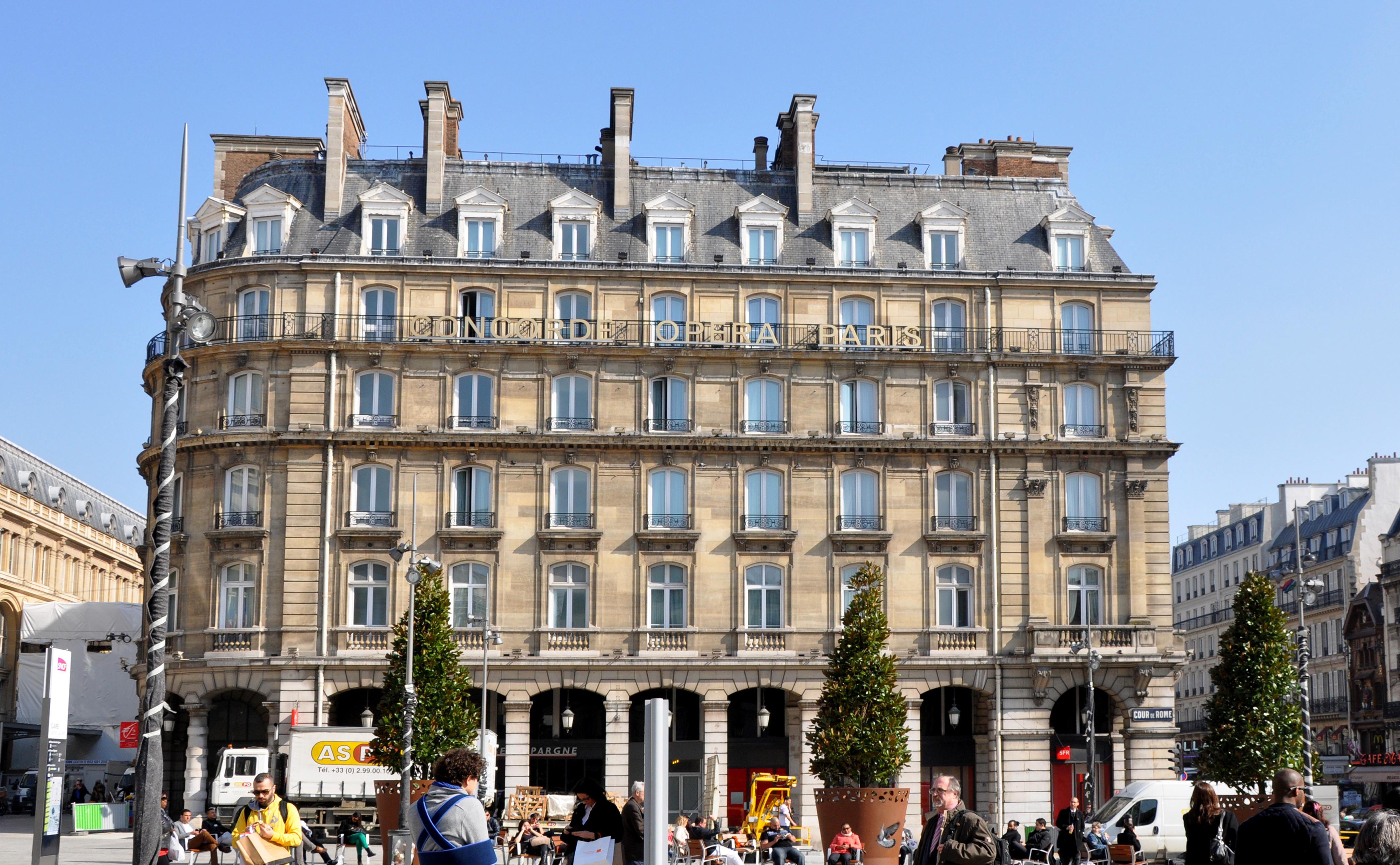 Hotel De Rome Dachterrabe