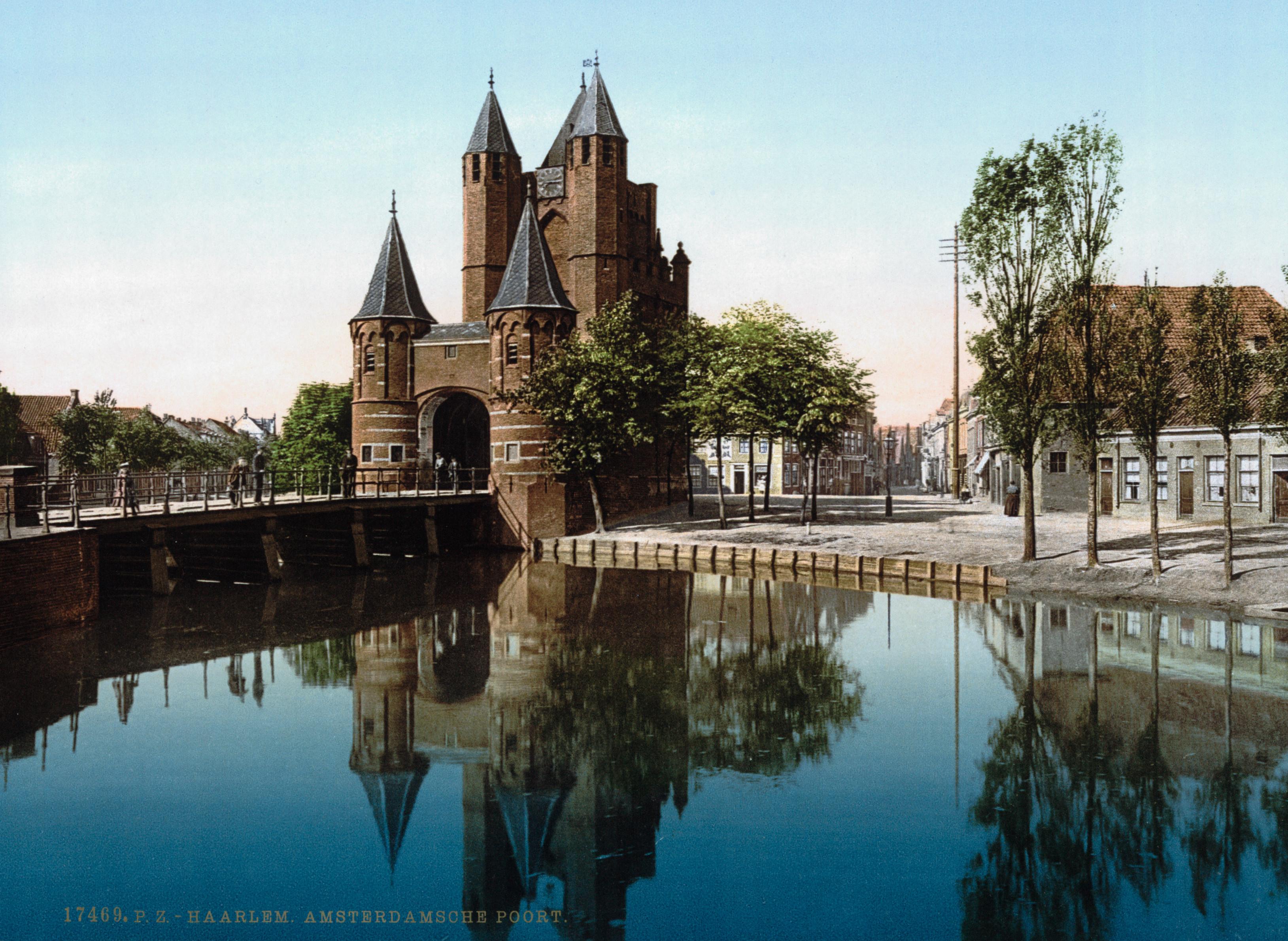 File:Haarlem - Amsterdamse Poort 1900.jpg - Wikimedia Commons