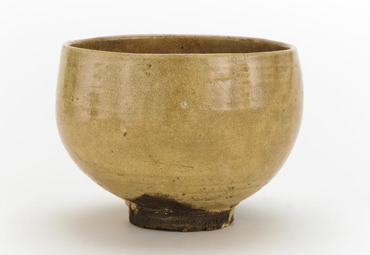 File Hagi Ware Japanese Tea Bowl 18th 19th Century Freer