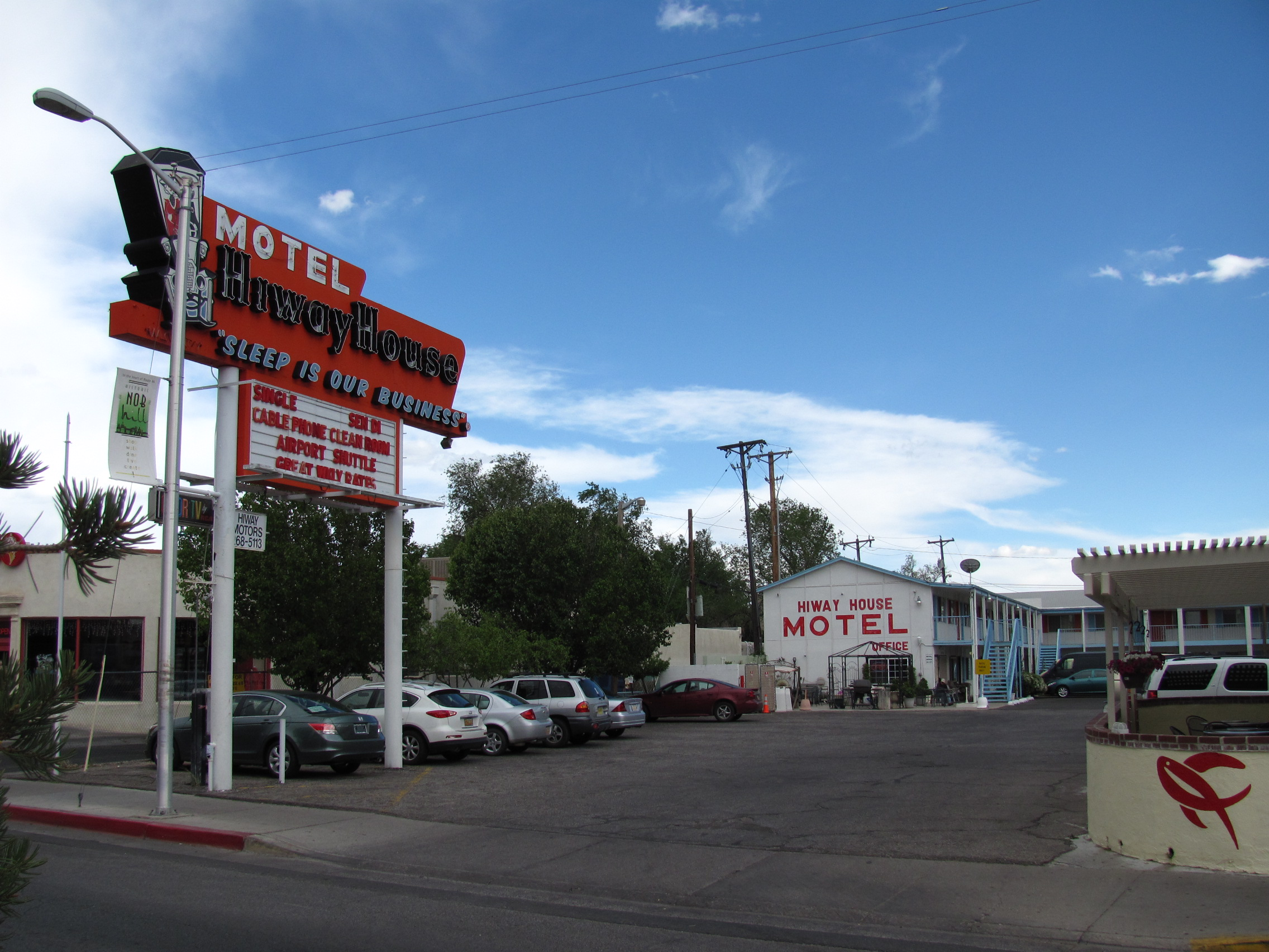 File Hiway House Motel On Central Avenue Albuquerque New