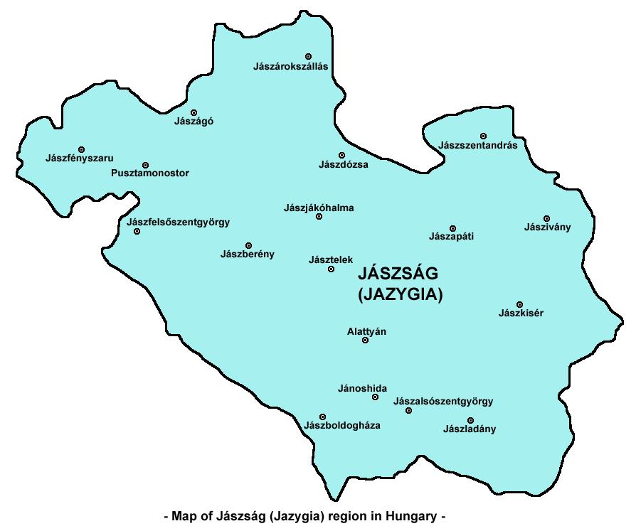 magyarország térkép jászberény Jászság – Wikipédia magyarország térkép jászberény