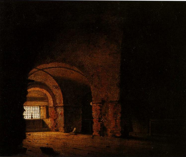 FileJoseph Wright Of Derby Small Prison Scene C1787 90