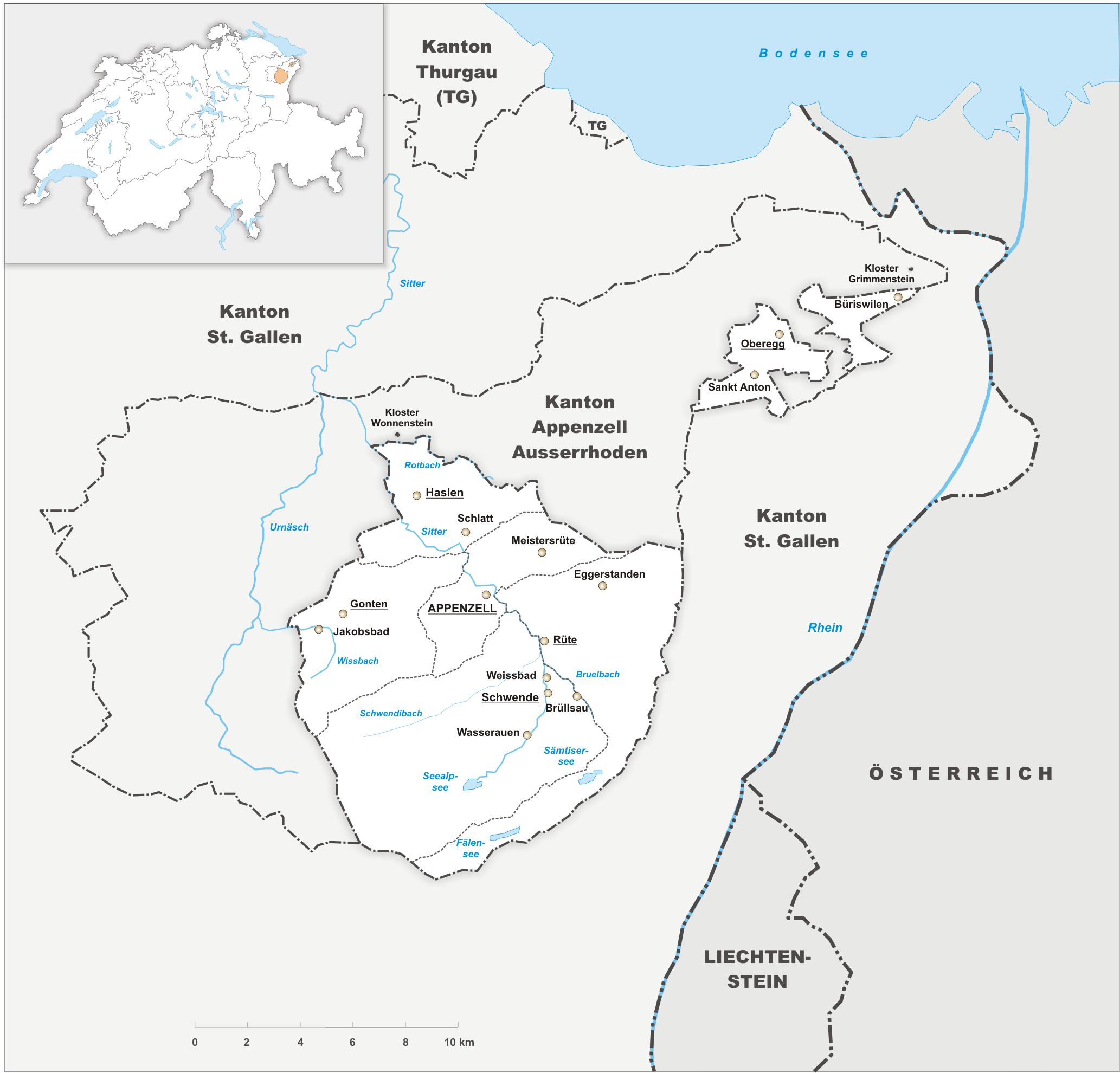 FileKarte Kanton Appenzell Innerrhoden 2010png Wikimedia Commons