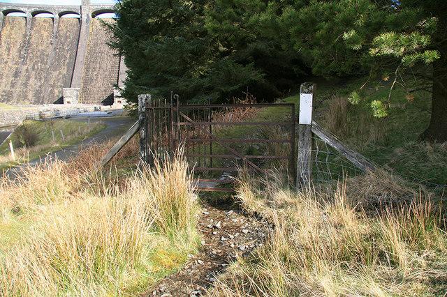 Kissing gate, Claerwen - geograph.org.uk - 1285763