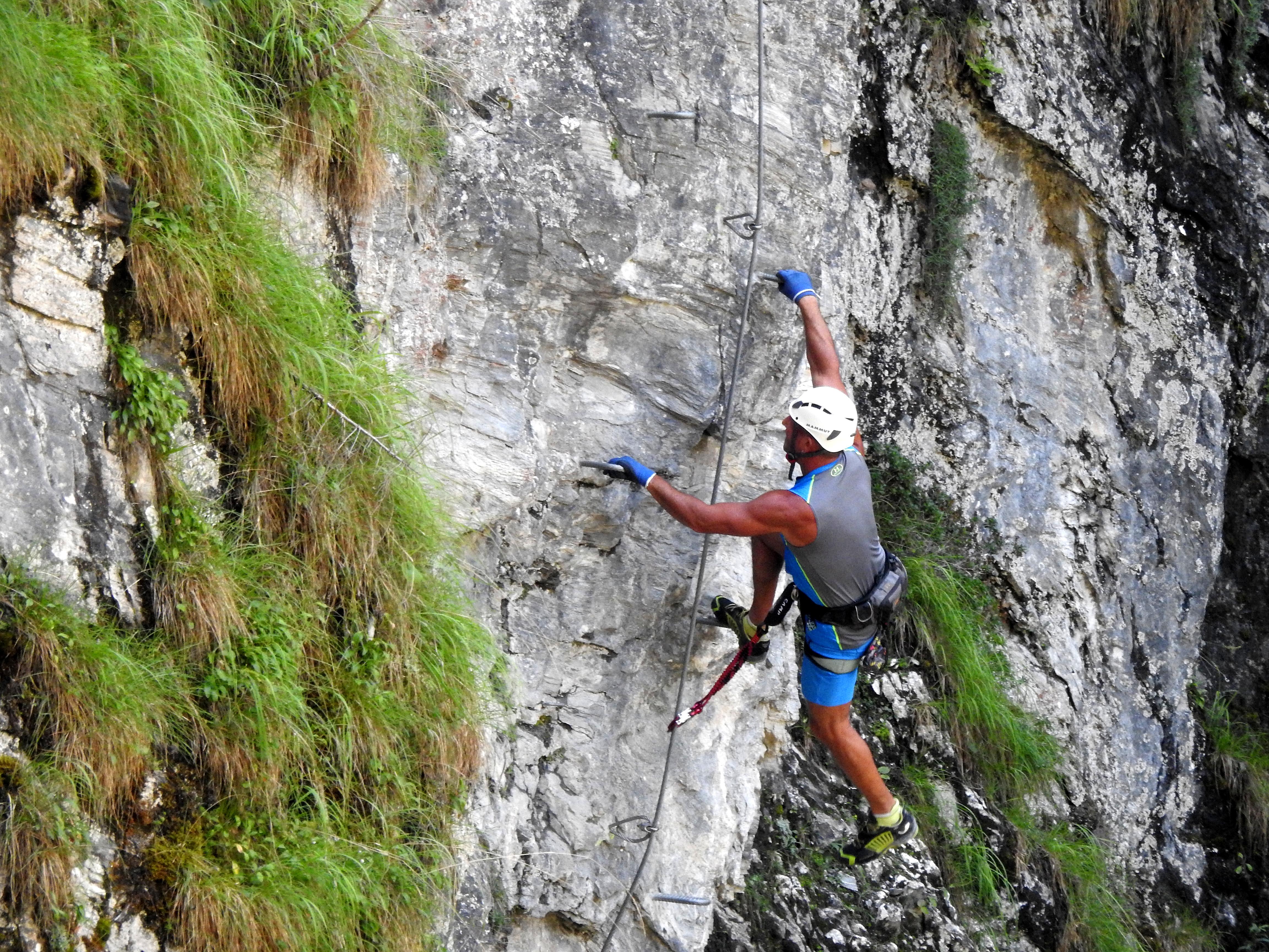 Klettersteig Kitzbühel : Plik kitz klettersteig unterer bereich g u wikipedia wolna