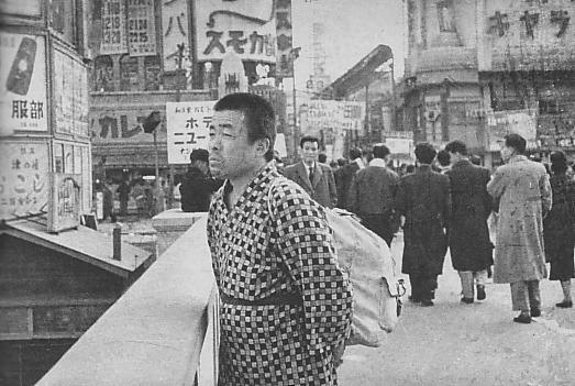 Kiyoshi Yamashita on Ebisubashi Bridge
