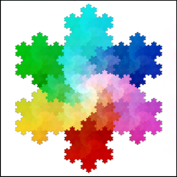 Koch Fractal - One of the easiest algorithms with graphics