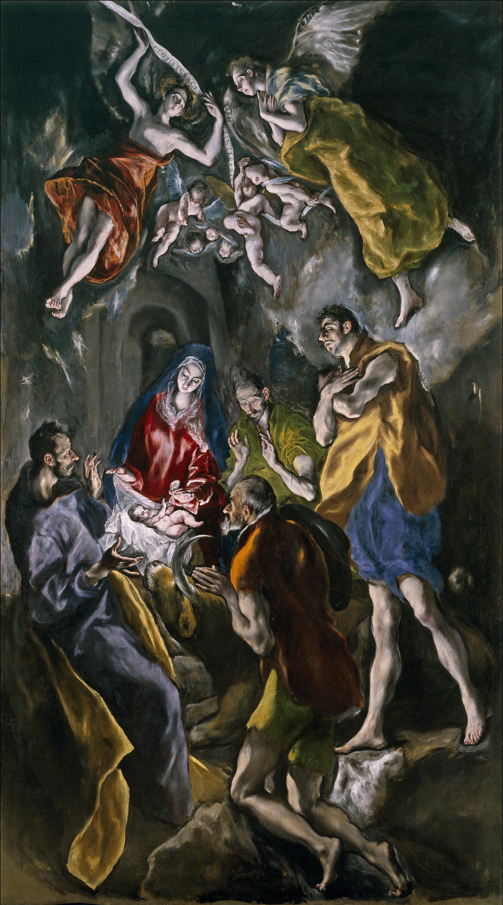 La Adoración de los pastores de Santo Domingo el Antiguo. El Greco