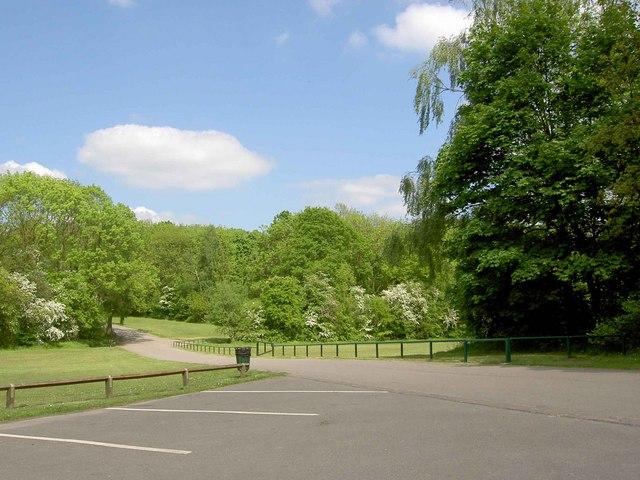 Langold Lake Country Park car park - geograph.org.uk - 801449