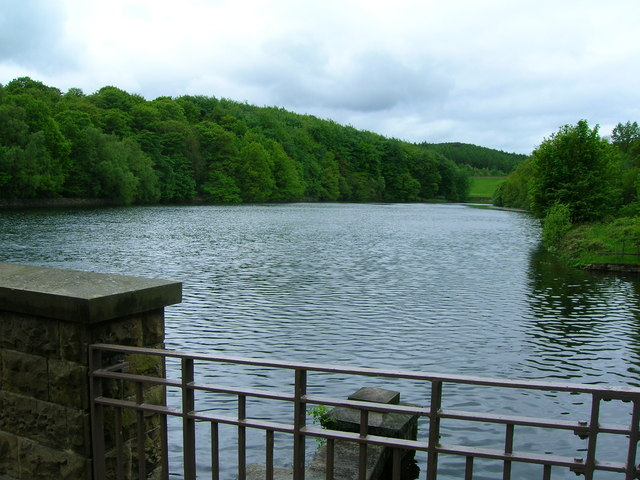 Linacre Middle Reservoir - geograph.org.uk - 1346454