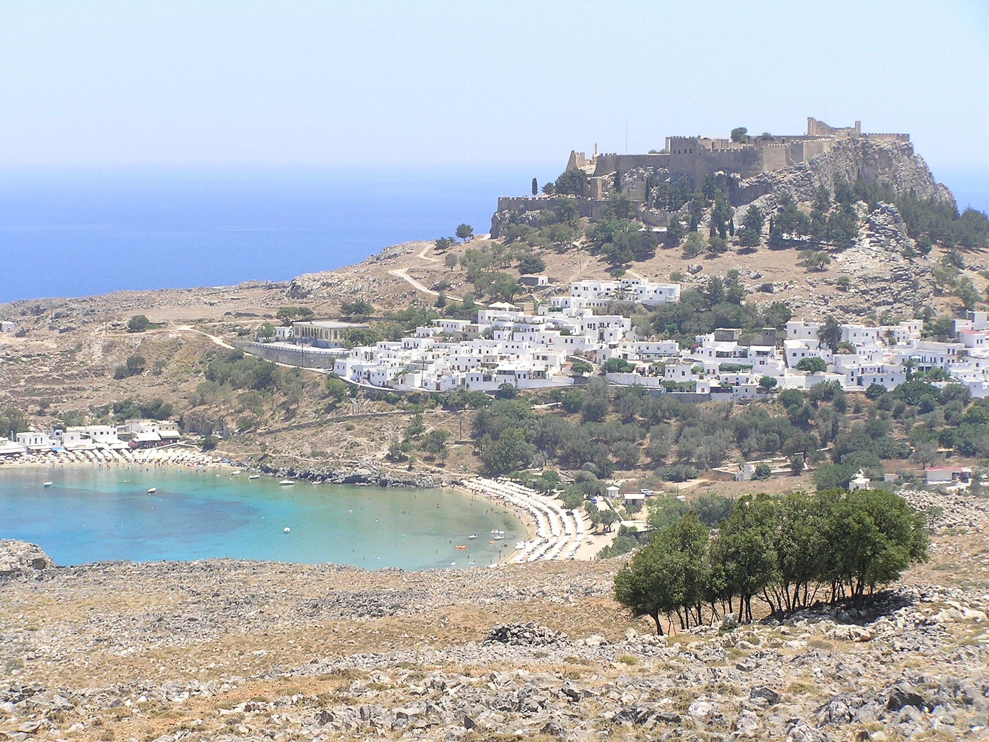 La isla de Rodas Grecia Rodas viajes e información turística Rodas Grecia