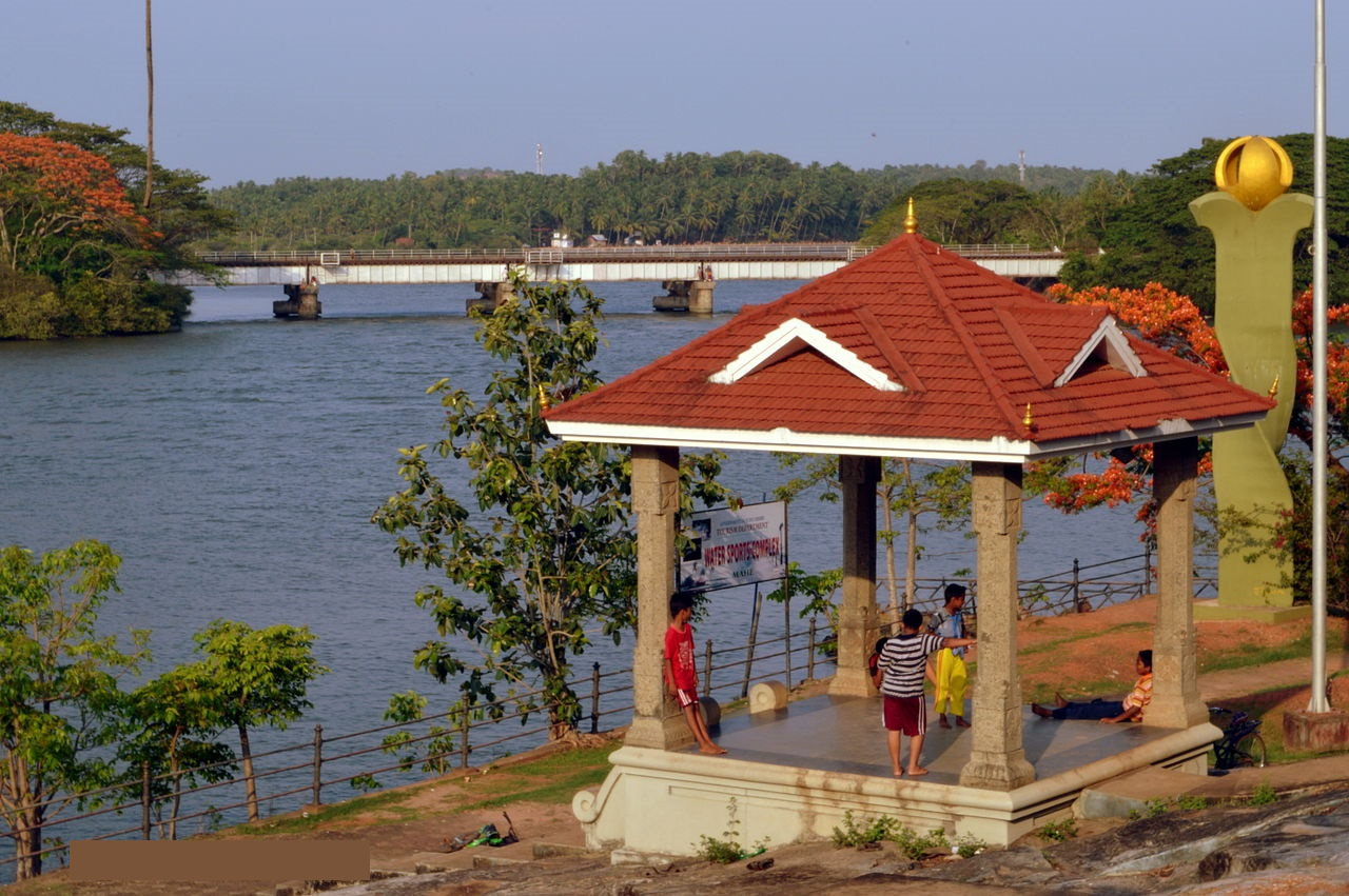 A click in the water sports complex area