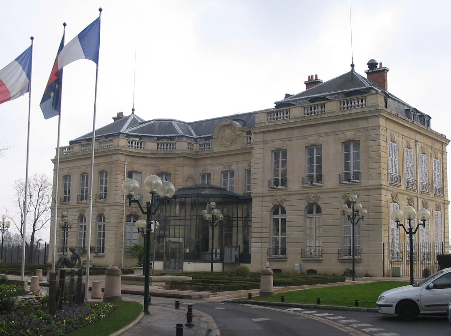 Epinay-sur-Seine France  city images : Mairie de Épinay sur Seine Wikimedia Commons