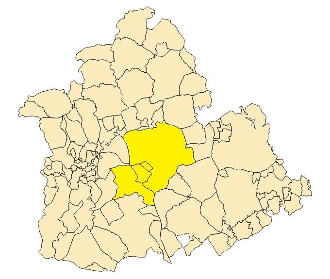 Zona Azul Sevilla Mapa.Los Alcores Wikipedia La Enciclopedia Libre