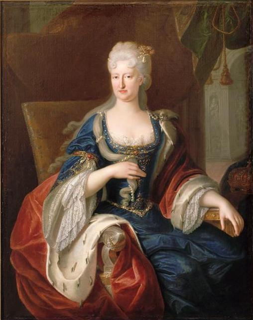 Depiction of Mariana de Neoburgo