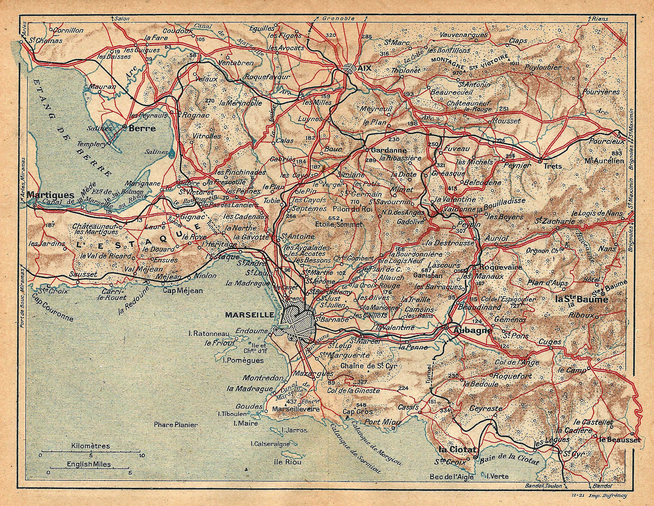 carte marseille et environs File:Marseille environs 1921 Carte 25.   Wikimedia Commons