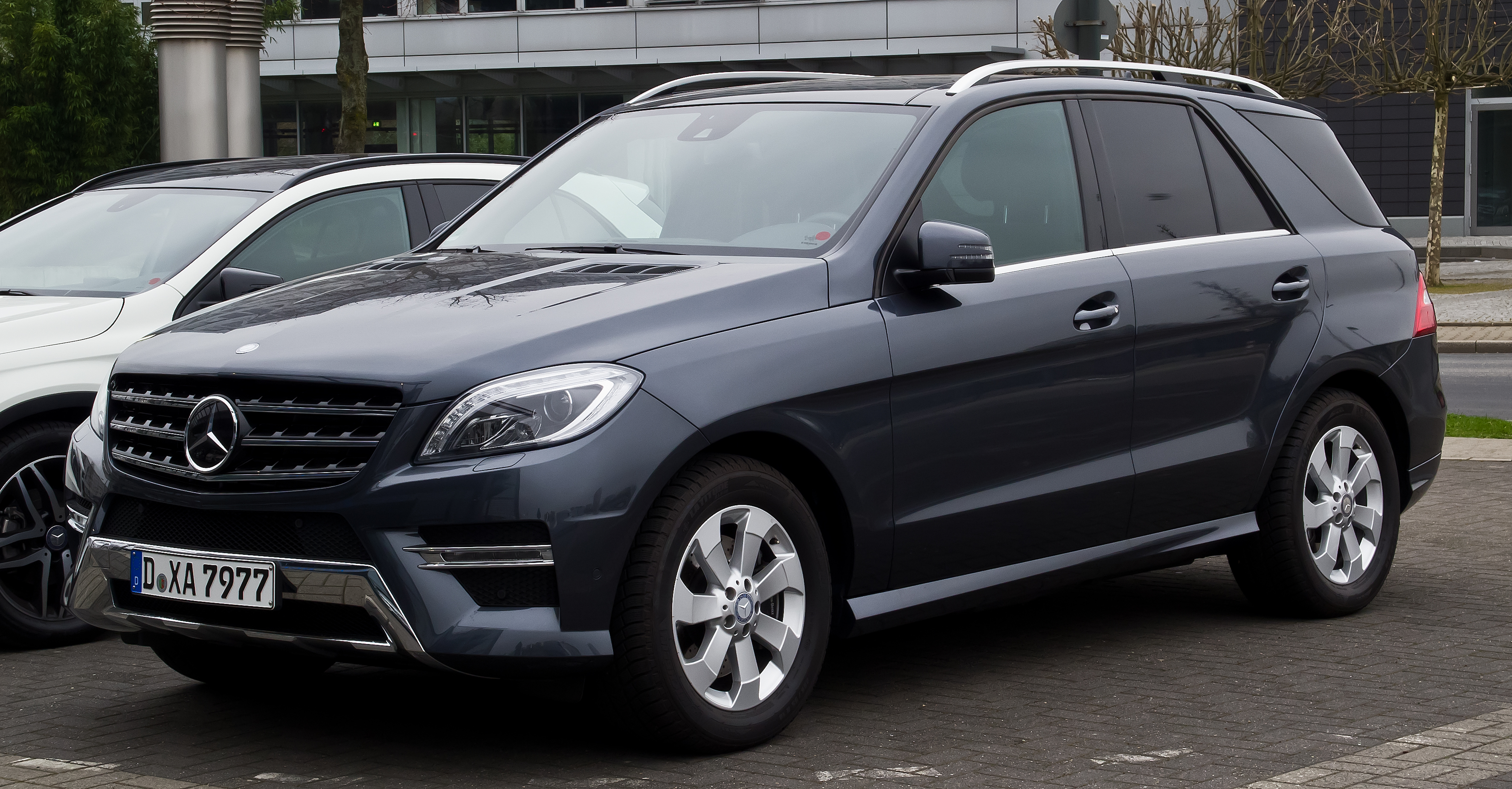 File Mercedes Benz Ml 350 Bluetec 4matic Sport Paket Amg W 166