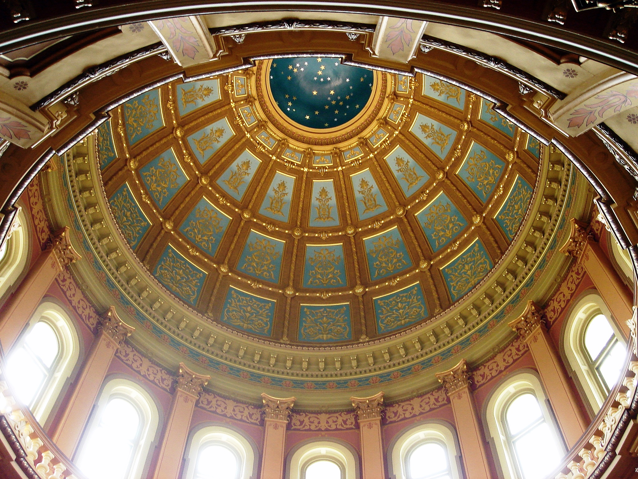 File Mi Cap Dome Ceiling Jpg Wikimedia Commons