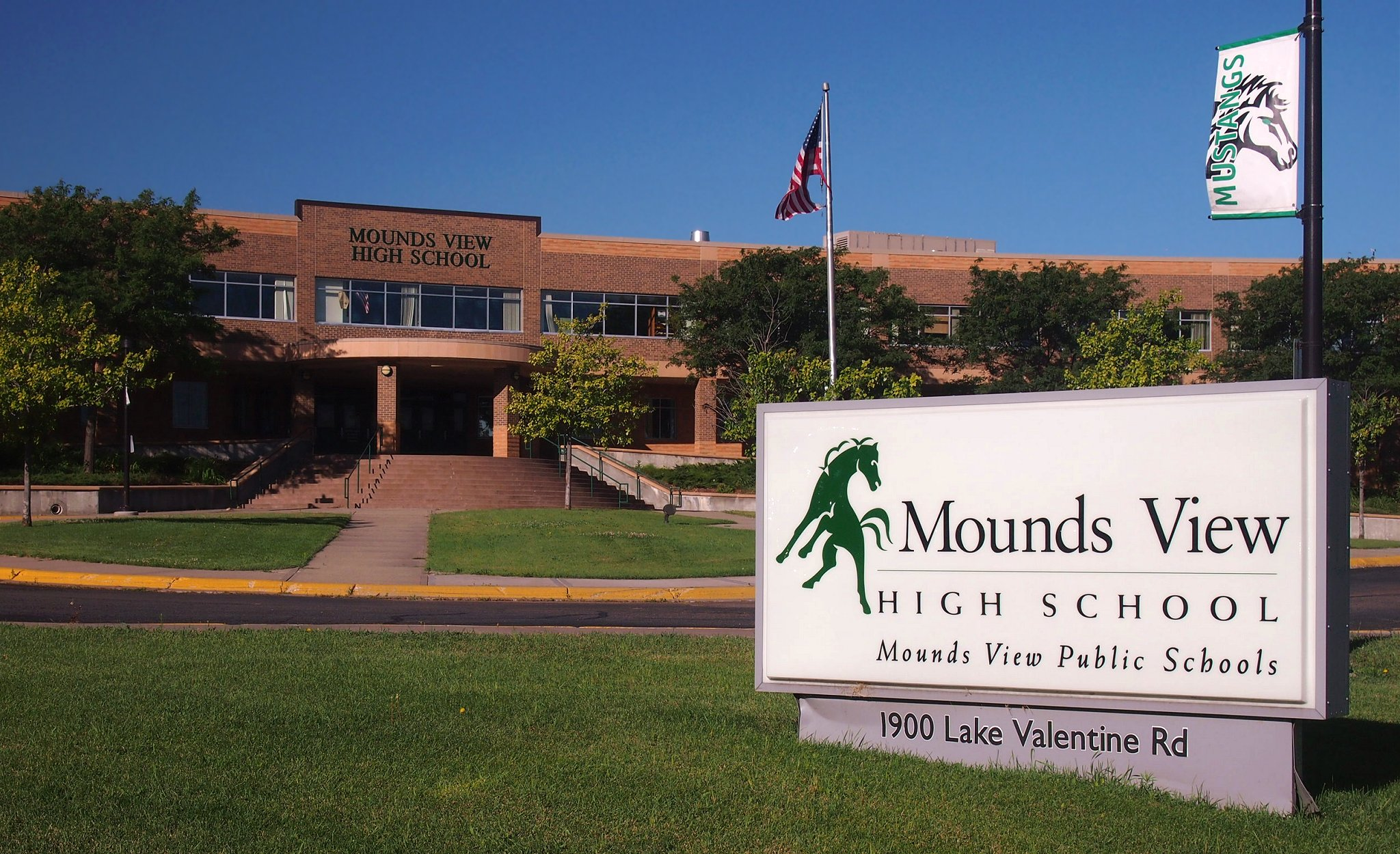 Mounds View School District Map File:Mounds View High School 01.   Wikimedia Commons