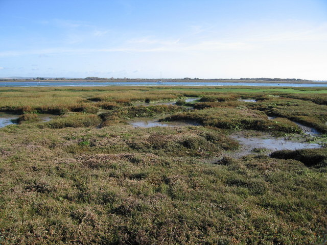 Mudflats - Chichester Harbour - geograph.org.uk - 603330