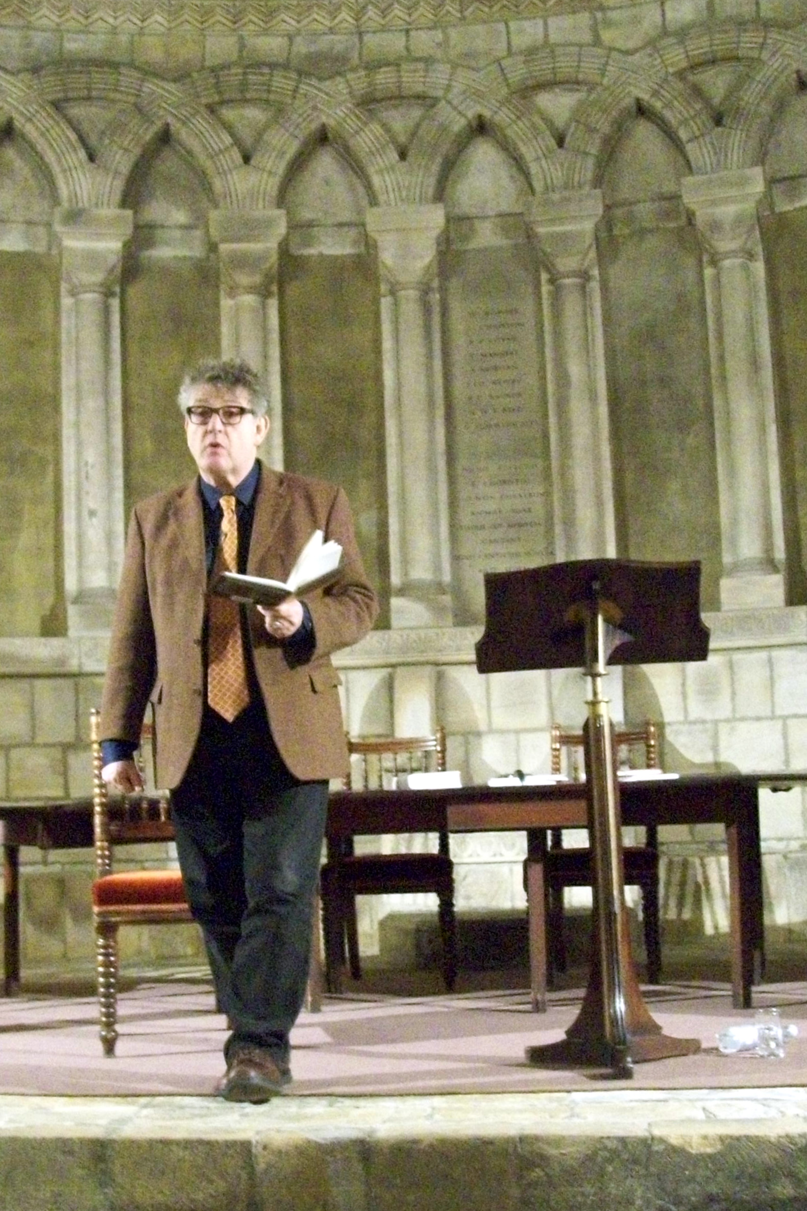 Paul Muldoon, 2013.