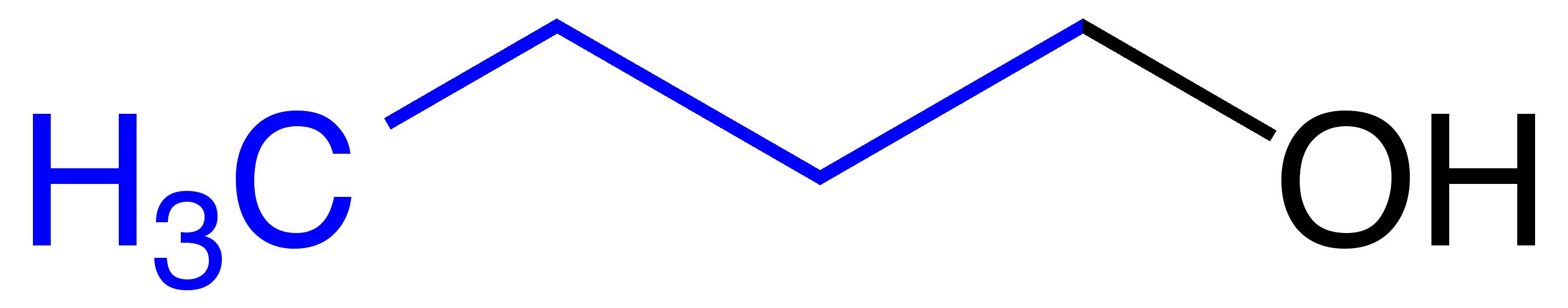 Butanol Structural Formula