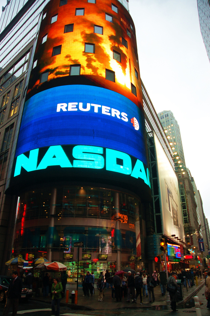 Nasdaq Stock Exchange- Photo by Alexandr Motin