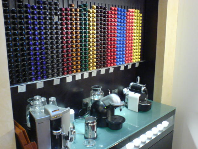 Photograph of the Nespresso boutique in Knight...