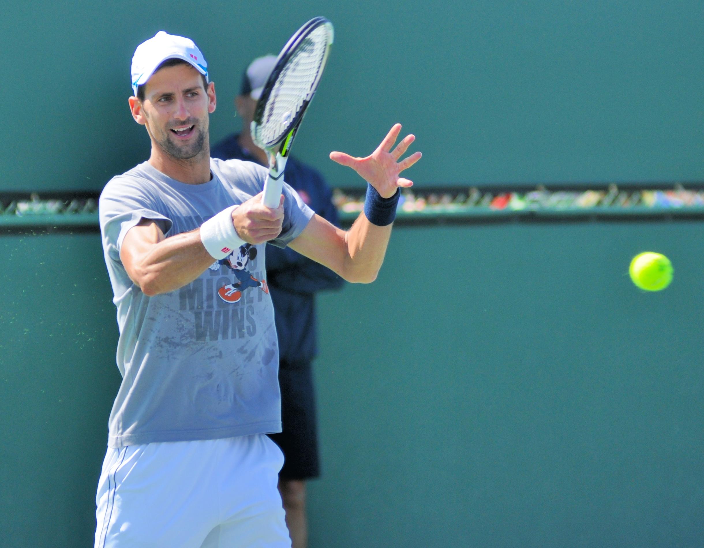 Novak Djokovic: Davis Cup-ledelsen bør sende en blomst.