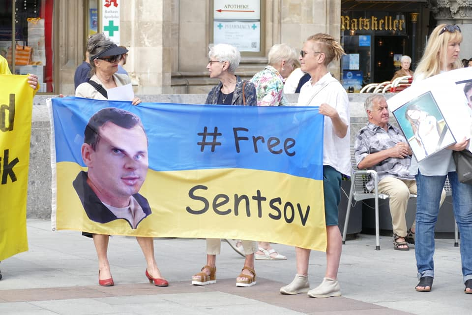 Oleg Sentsov, Action Support. Munich, Germany. 2018-06-03. 42.jpg